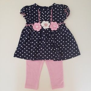 NWT toddler outfit set